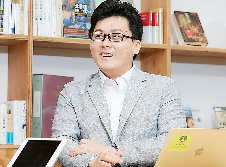 JX通信社 代表取締役 米重克洋さん